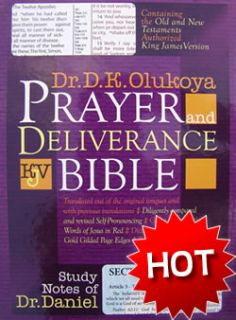 Prayer and Deliverance Bible by Dr D K Olukoya