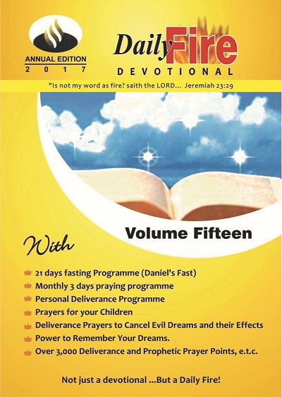 Daily Fire Devotional 2017